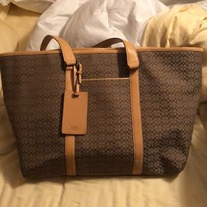 Authentic Coach travel bag